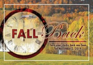 Fall Time Change Postcards for Realtors