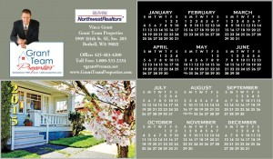 2015 Calendars for Real Estate Agents