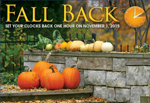 Fall Time Change Postcards for Real Estate Agents