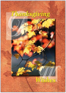 Thanksgiving Greeting Cards for Real Estate Agents