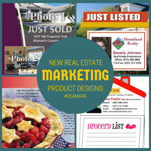 real estate marketing product designs