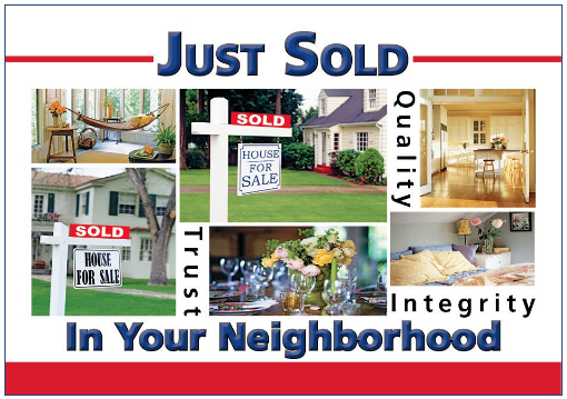 real estate marketing Just Listed_Just Sold