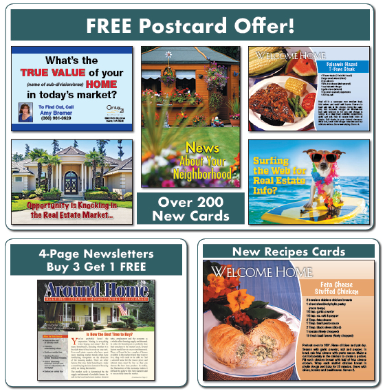 real estate marketing postcard offer