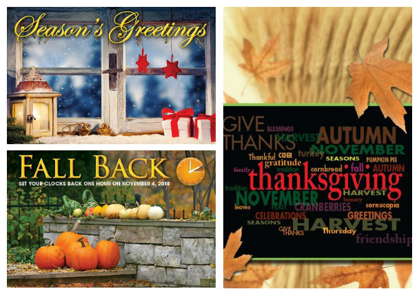 direct mail holiday greeting cards